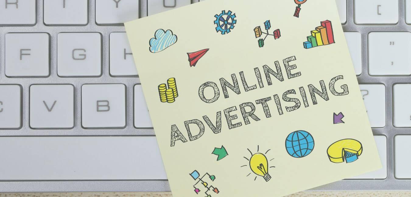 Toestenbord met tekst erop - waarom ieder bedrijf aan online marketing zou moeten doen